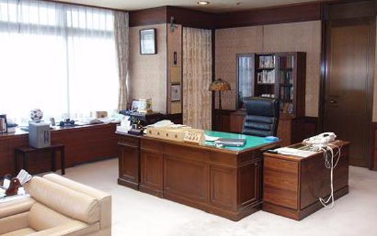 静岡市長室